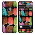 Coque 3D iPhone 5/5S Sweety Big Macarons
