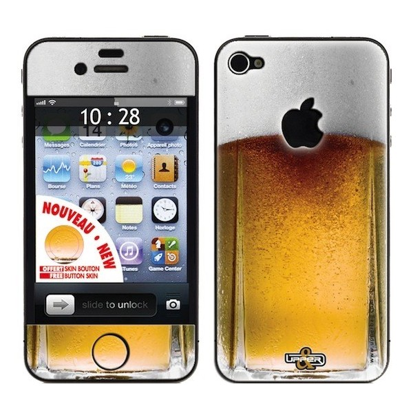 Coque 3d iphone 4 4s sweety beer upperbag for Cuisine 3d pour iphone