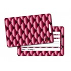 Etiquette Bagage Girly Pink
