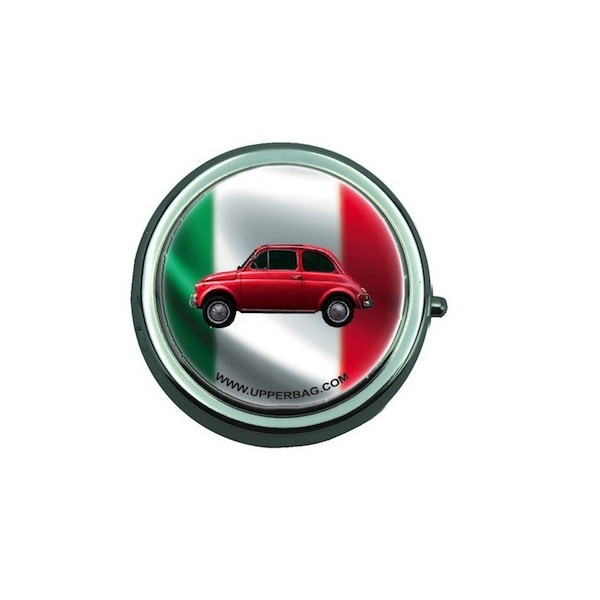 Pill Box Italia Flag & Fiat