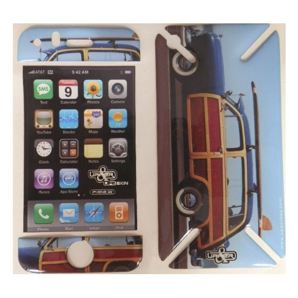 Coque 3D iPhone 3G/3GS USA Malibu