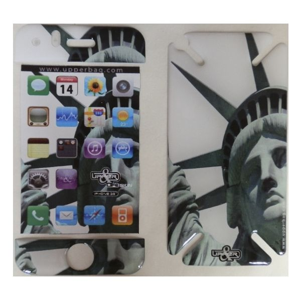 Coque 3D iPhone 3G/3GS USA NY Liberty