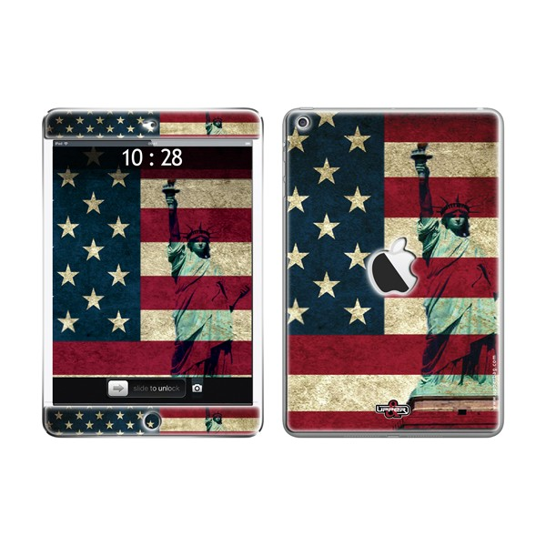Skin 3D iPad Mini USA Flag Vintage & Liberty