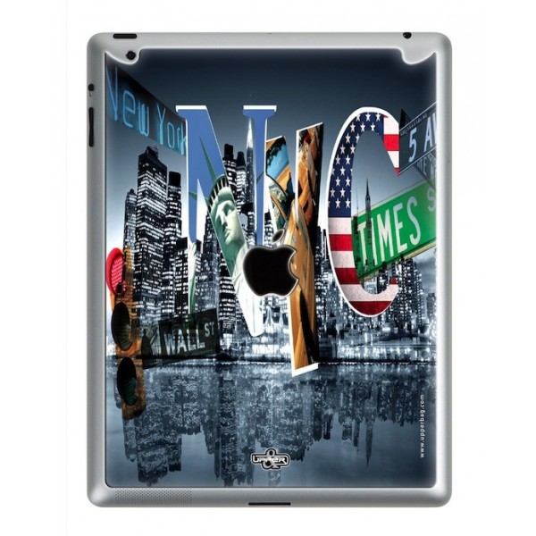 Coque 3D iPad 2/3/4 Cities NYC
