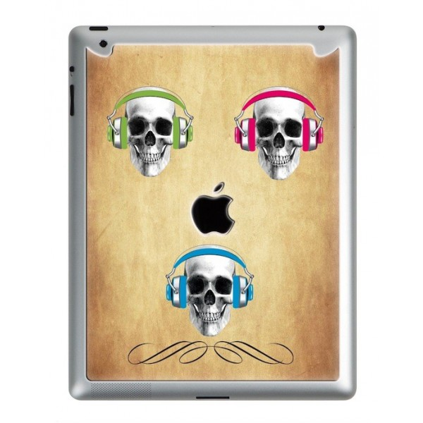 Coque 3D iPad 2/3/4 Danger Music