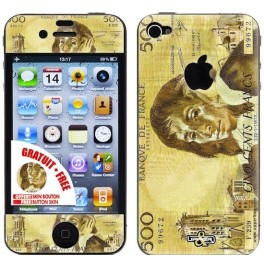 Skin 3D iPhone 4/4S 500 Francs