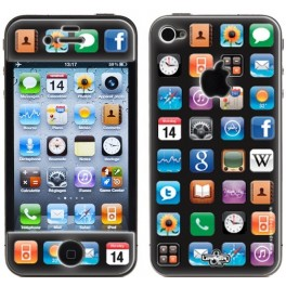Skin 3D iPhone 4/4S Applications