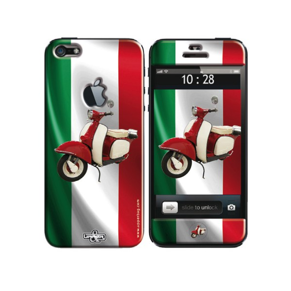 Coque 3d Iphone 5c Italia Flag Amp Vespa Upperbag