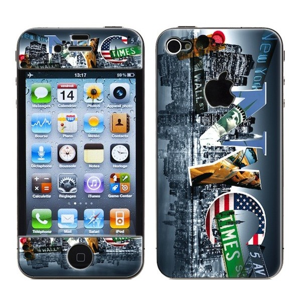 Coque 3D iPhone 4/4S Cities NYC