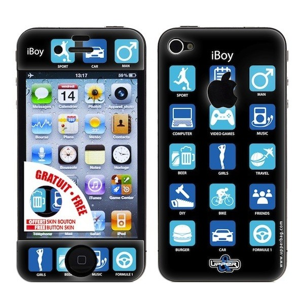 Skin 3D iPhone 4/4S iBoy