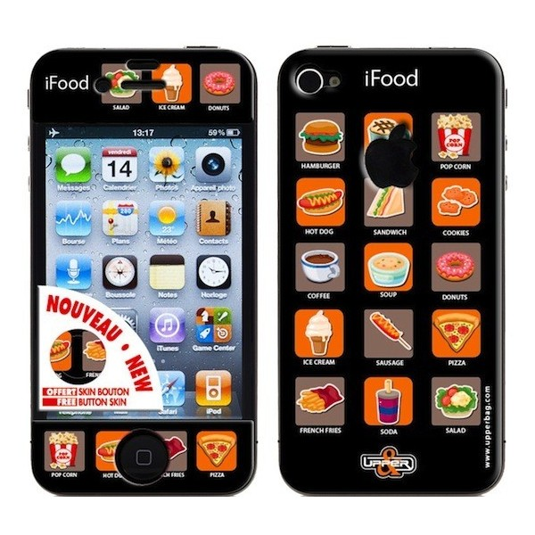 Skin 3D iPhone 4/4S iFood