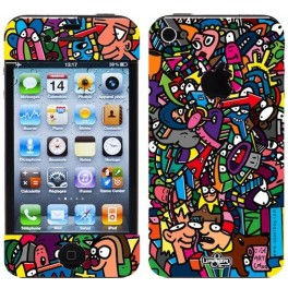 Skin 3D iPhone 4/4S Jigé Color Toilet Paper