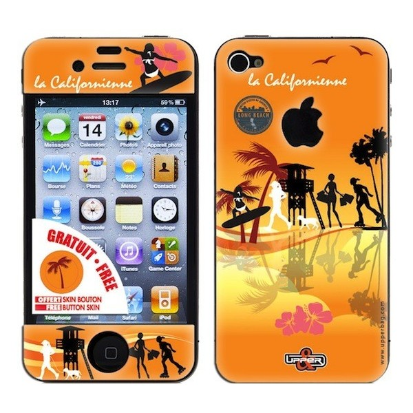 Skin 3D iPhone 4/4S La Californienne