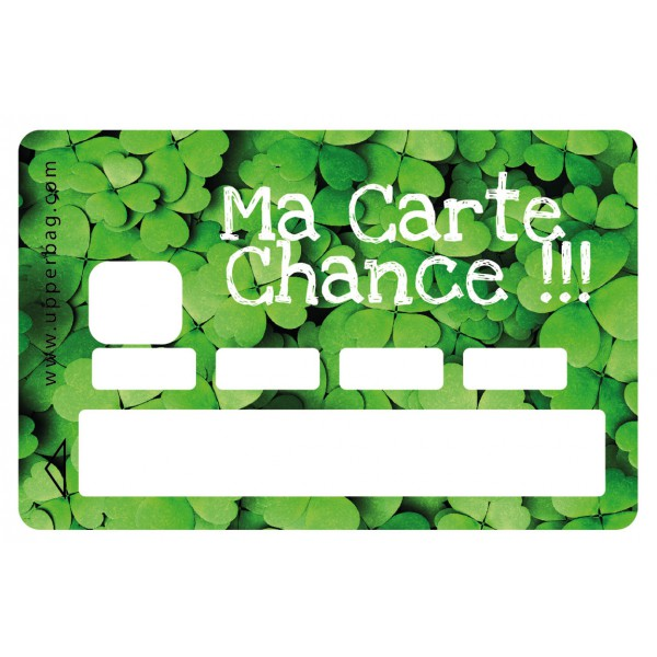 Sticker CB Carte Chance
