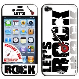 Skin 3D iPhone 4/4S Let's Rock