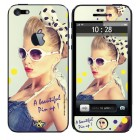 Coque 3D iPhone 5/5S Beautiful Pin Up