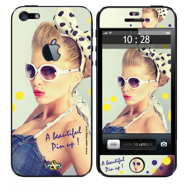 Coque 3D iPhone 6/6S Beautiful Pin Up