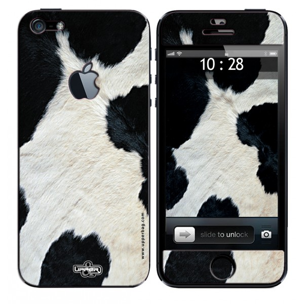 Coque 3D iPhone 6/6S Jungle Cow B&W