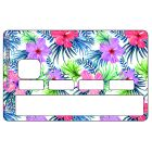 Sticker CB Tropical Fluo Flowers