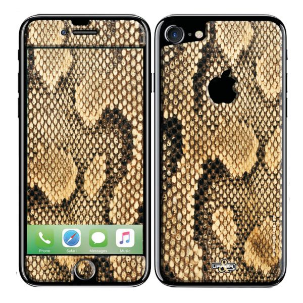 Coque 3D iPhone 5/5S Jungle Snake Gold