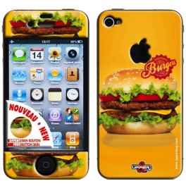Coque 3D iPhone 4/4S Sweety Burger