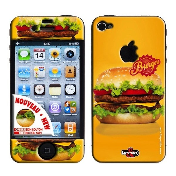 Skin 3D iPhone 4/4S Sweety Burger