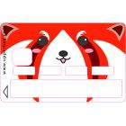 Sticker CB  Kawaii Red Panda