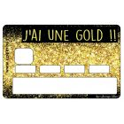 Stickers CB Vilaines Filles Gold