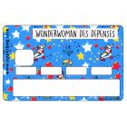 Stickers CB Vilaines Filles Wonderwoman