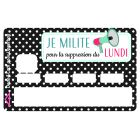 Sticker Credit Card Accro Au Shopping