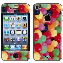 Skin 3D iPhone 4/4S Sweety Mix 1