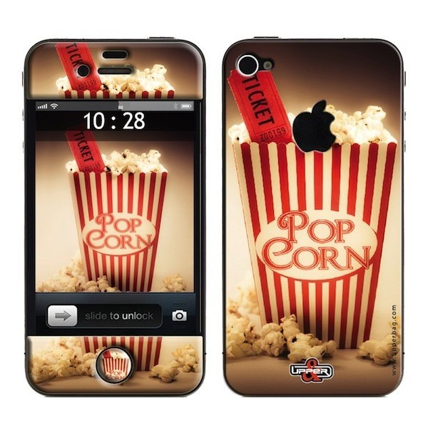 Skin 3D iPhone 4/4S Sweety Pop Corn