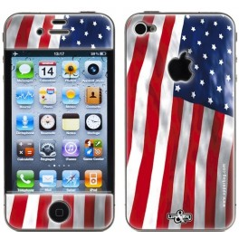 Skin 3D iPhone 4/4S USA Flag