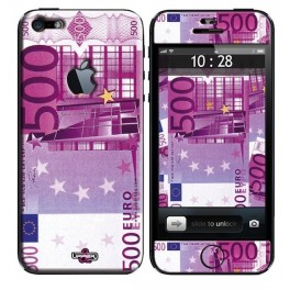 Coque 3D iPhone 5 500 Euros