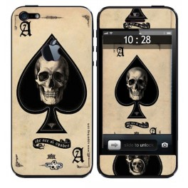 Skin 3D iPhone 5 Ace Of Death