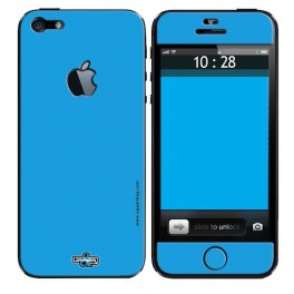 Skin 3D iPhone 5 Full Blue