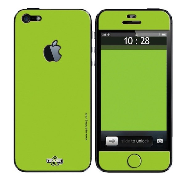 Skin 3D iPhone 5 Full Green