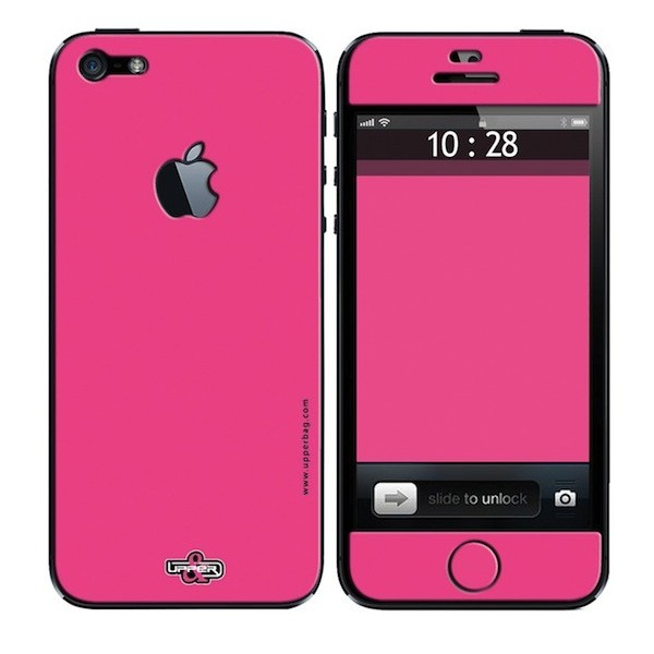 Skin 3D iPhone 5 Full Pink