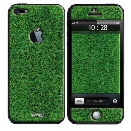 Coque 3D iPhone 5 Earth Golf Grass