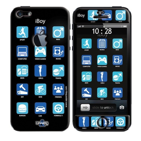 Coque 3D iPhone 5 iBoy