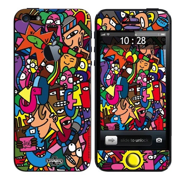 Skin 3D iPhone 5 Jige Color Super Worm