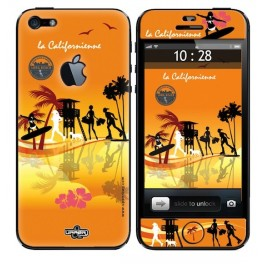 Skin 3D iPhone 5 La Californienne