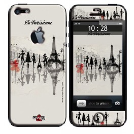 Skin 3D iPhone 5 La Parisienne