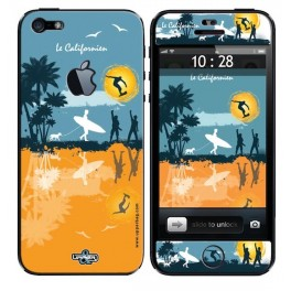Skin 3D iPhone 5 Le Californien