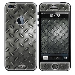 Skin 3D iPhone 5 Metal Grid