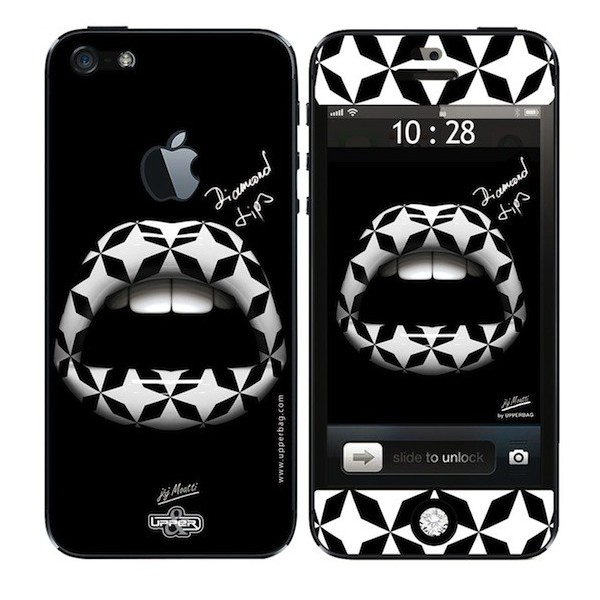 Skin 3D iPhone 5 Moatti Lips 3D Geometrie