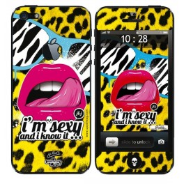 Skin 3D iPhone 5 Moatti Sexy Lips