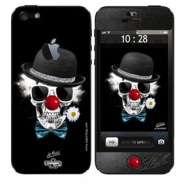 Skin 3D iPhone 5 Moatti Skull Clowny