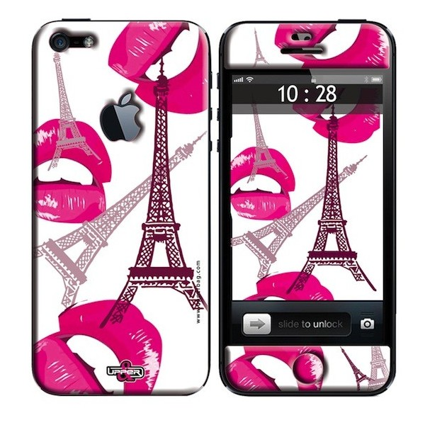 Coque 3d iphone 5 paris pink upperbag for Cuisine 3d pour iphone