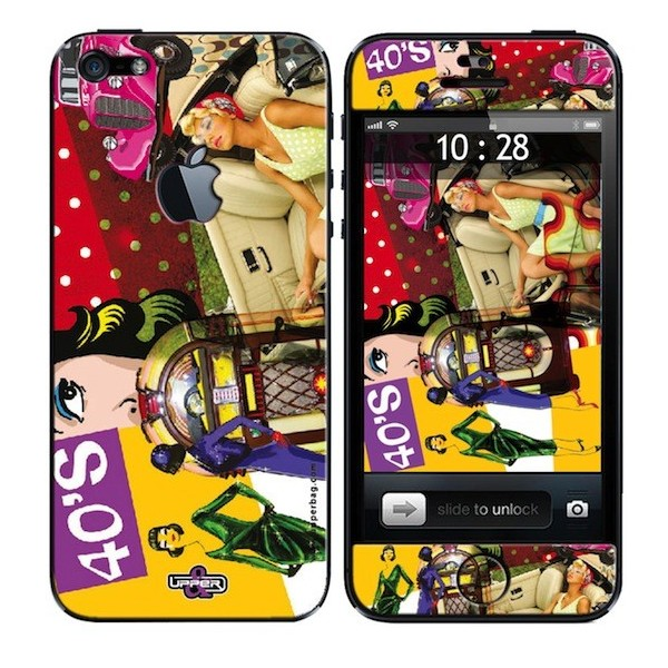 Skin 3D iPhone 5 Retro 40'S